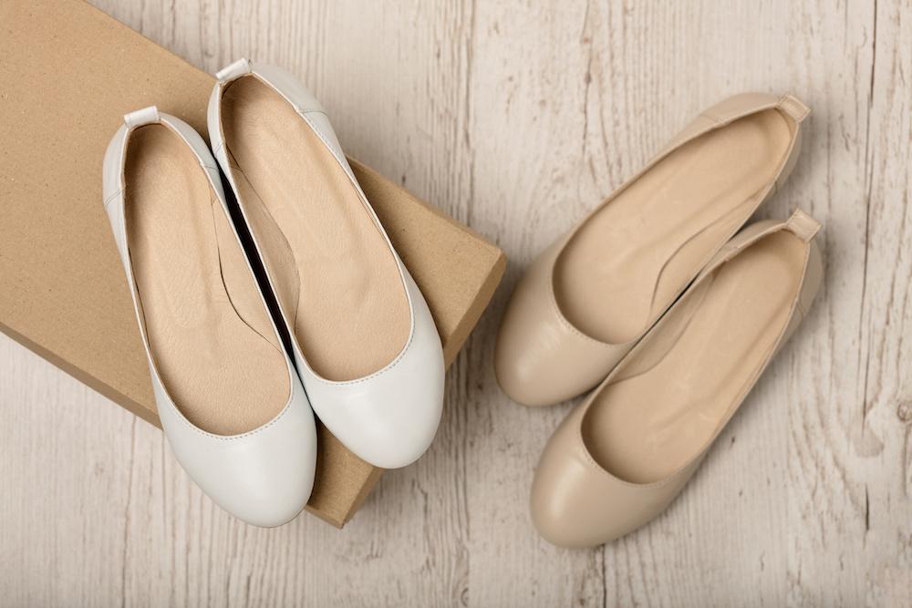 best nude ballet flats